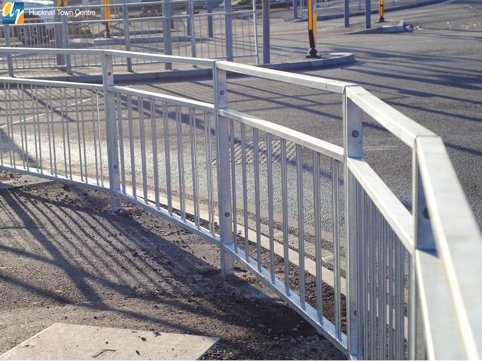 Hucknall Pedestrian Guardrail