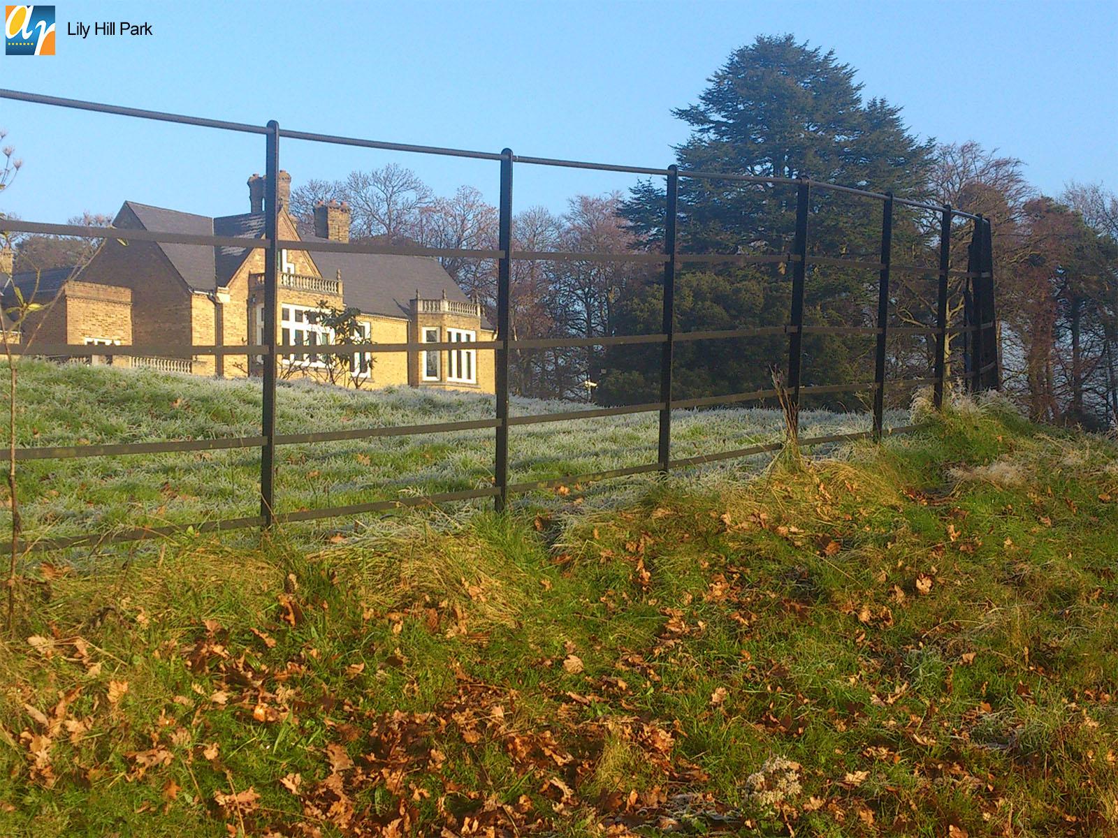 Lily Hill Park Estate Rail