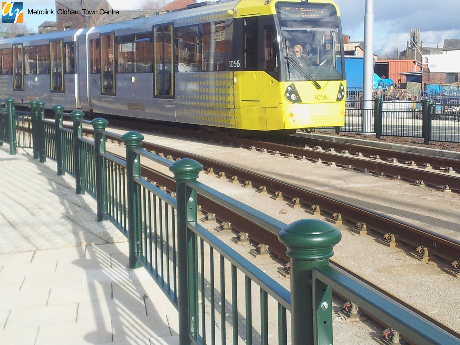 Metrolink, Oldham Decorative Pedestrian Guardrail