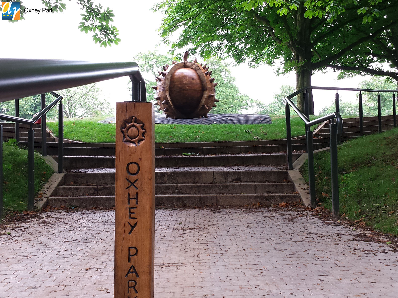 Bespoke metalwork for parks