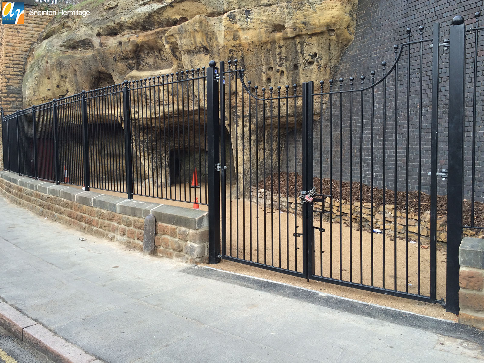 Mild Steel Railings for Environmental and Improvement Schemes