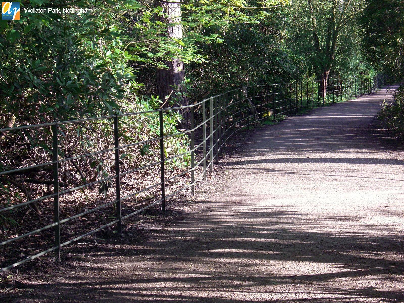 Wollaton Park Estate Rail