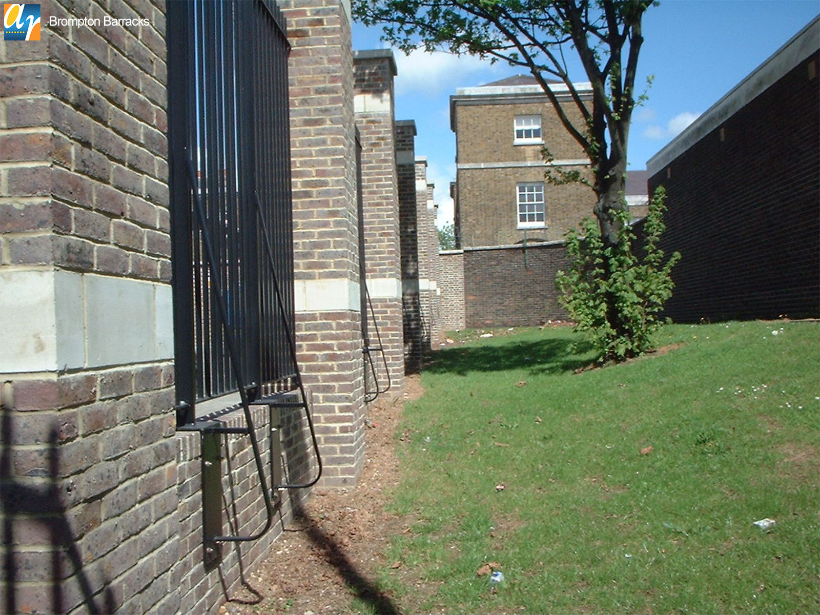 Brompton Barracks security railings