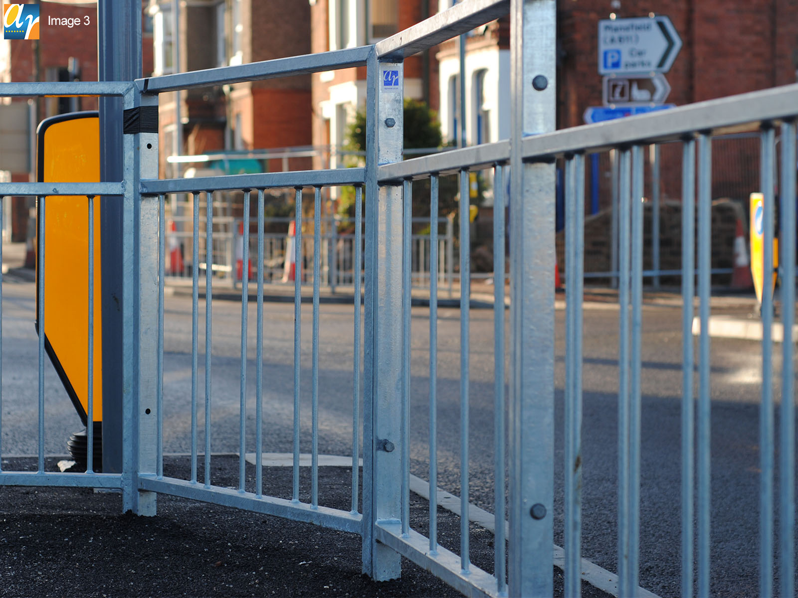 Alpha Rail pedestrian guardrail