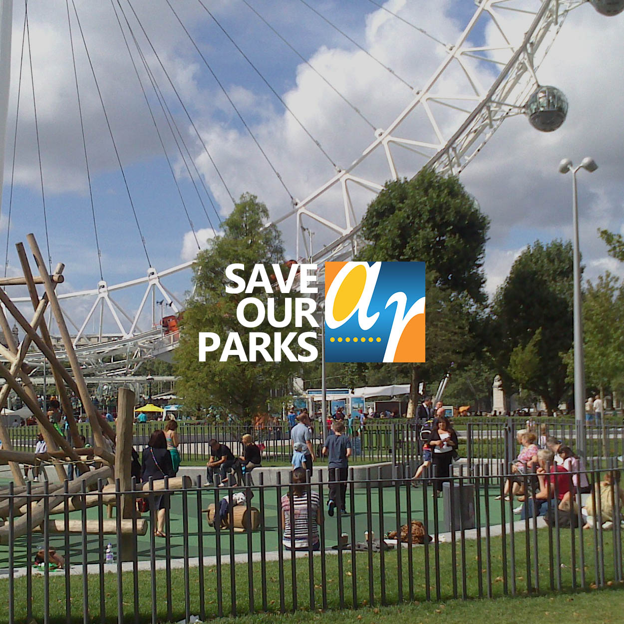 Alpha Rail save our parks