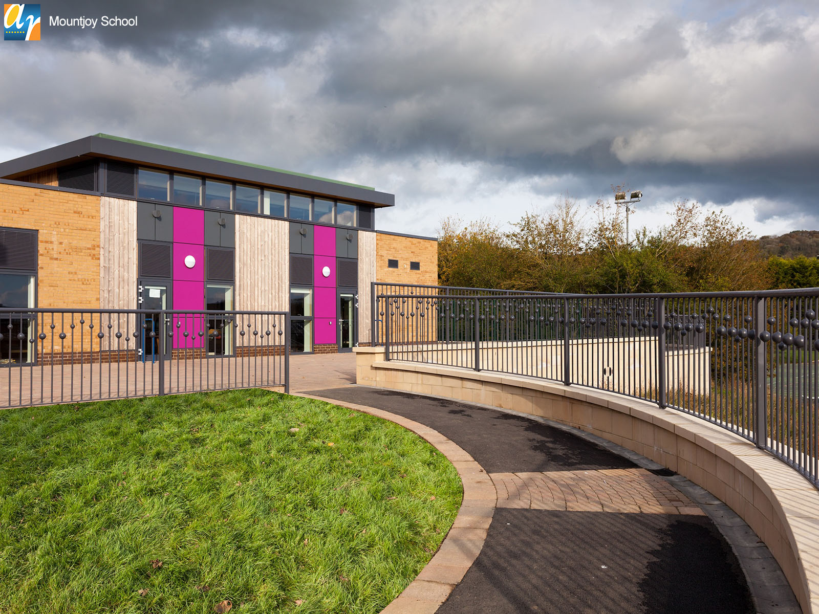 Mountjoy school bespoke metalwork