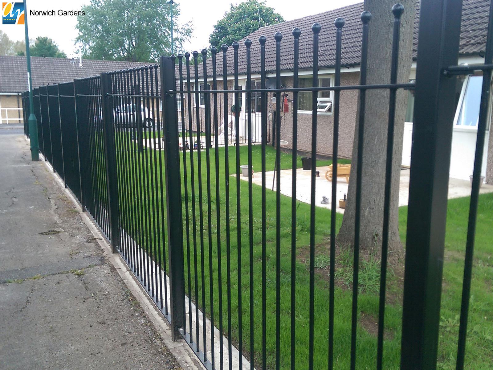 Norwich Gardens bespoke metalwork