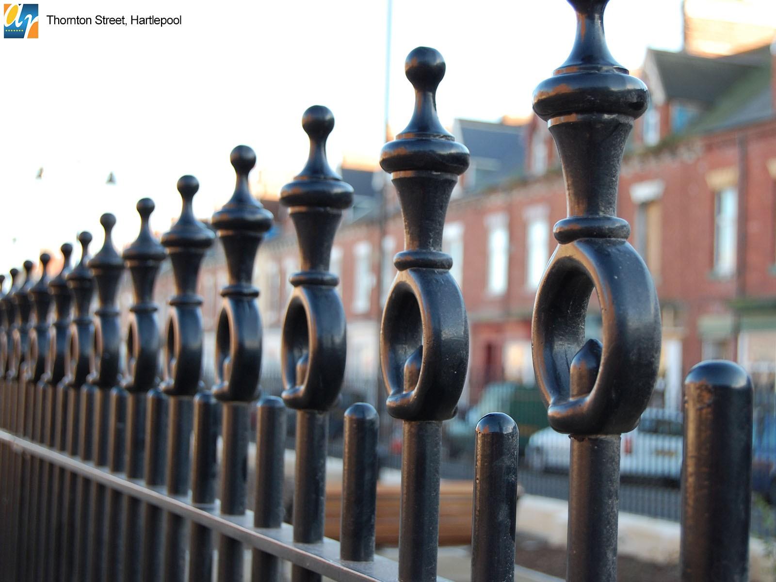 Thornton Street bespoke metalwork