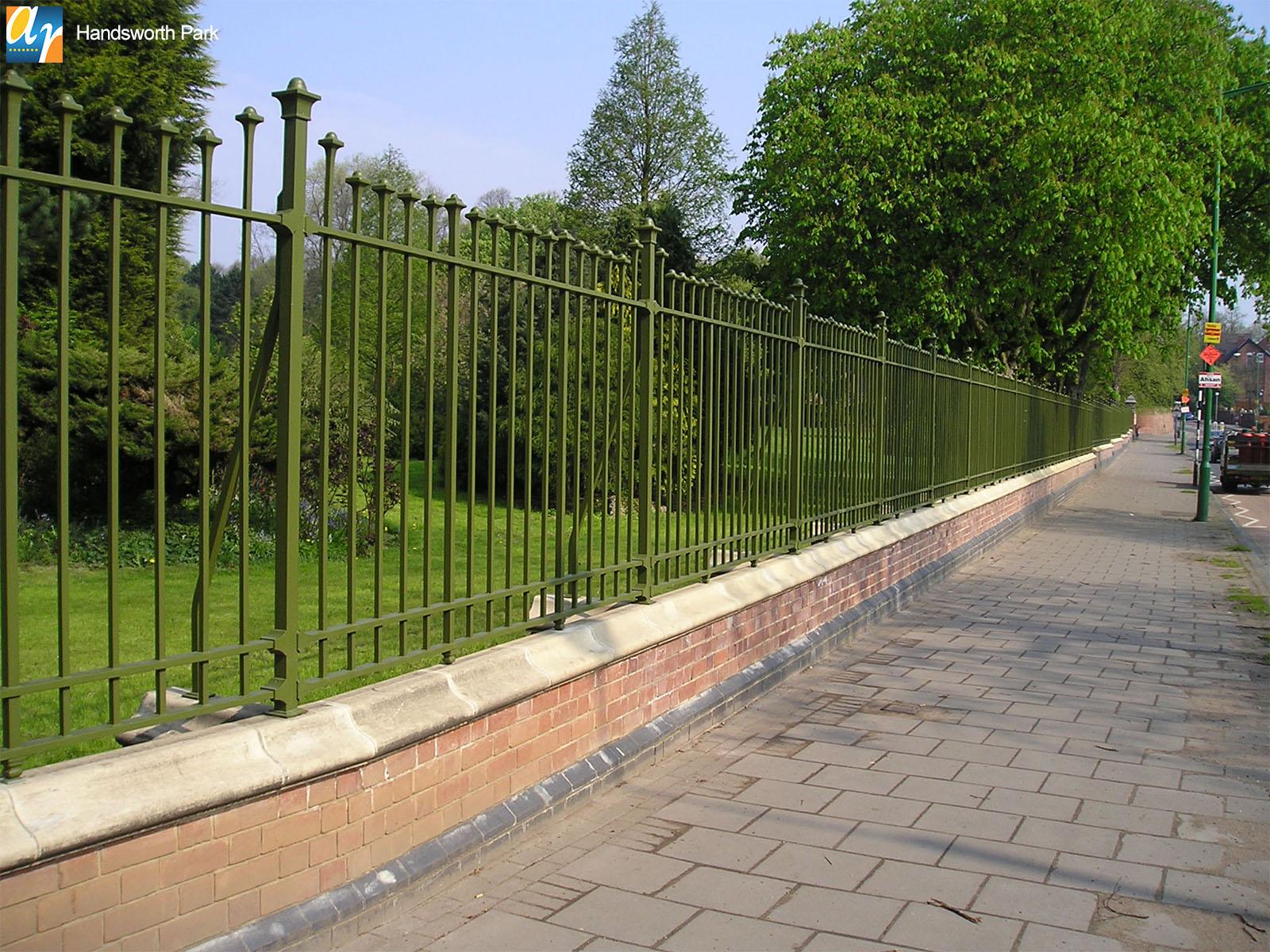 Handsworth Park bespoke metalwork