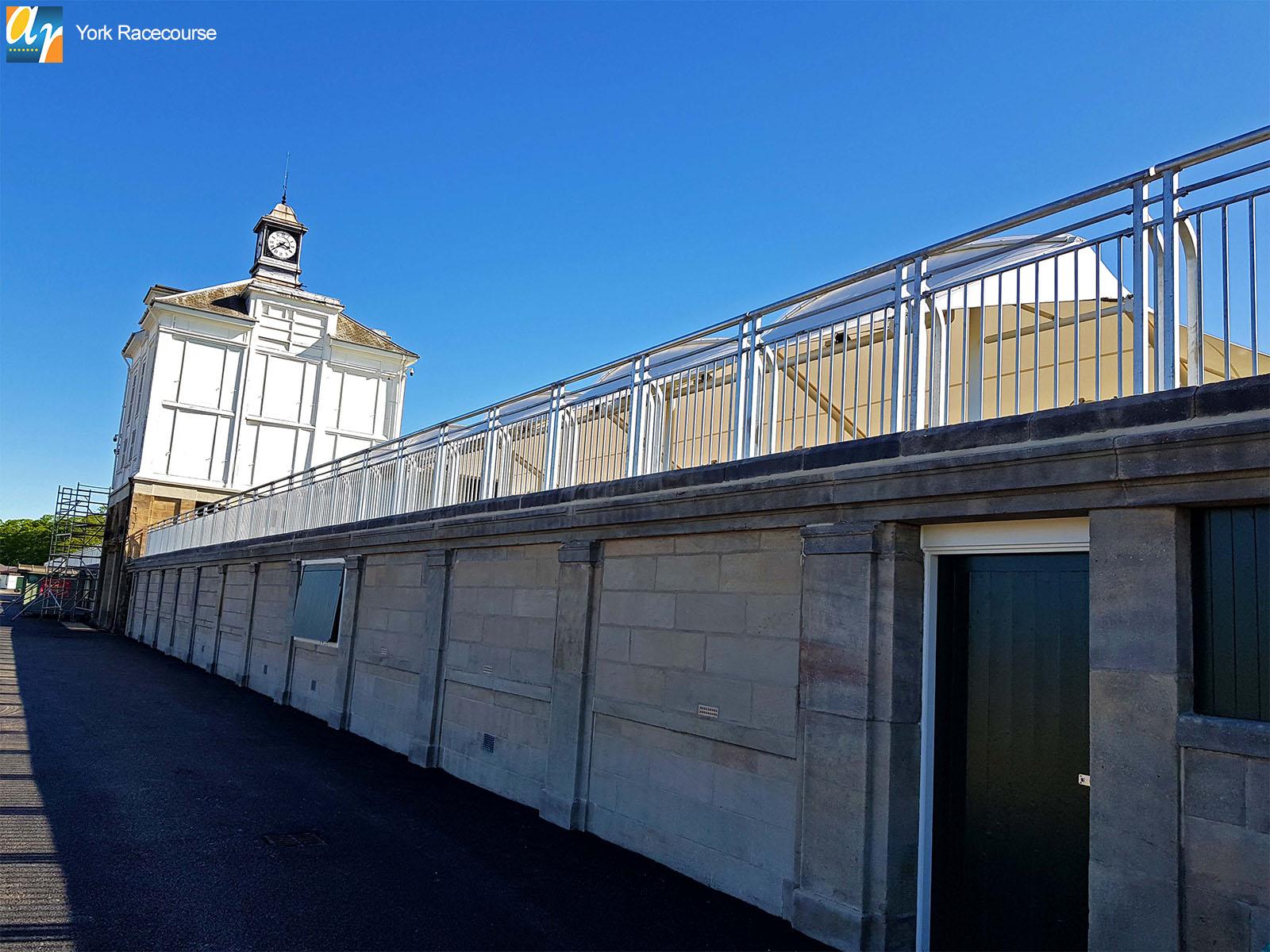 York Racecourse bespoke metal balustrade