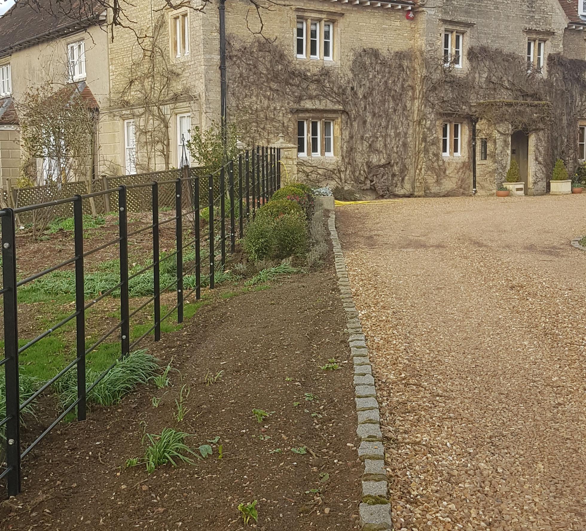 Lavendon Grange Estate Rail