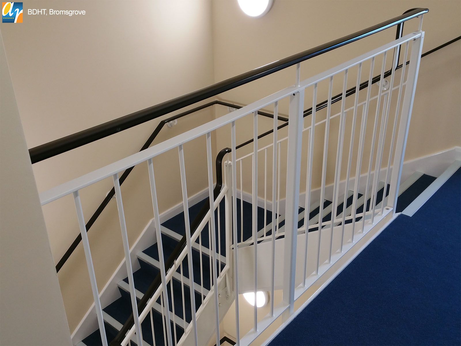 BDHT Bromsgrove metal stair railings