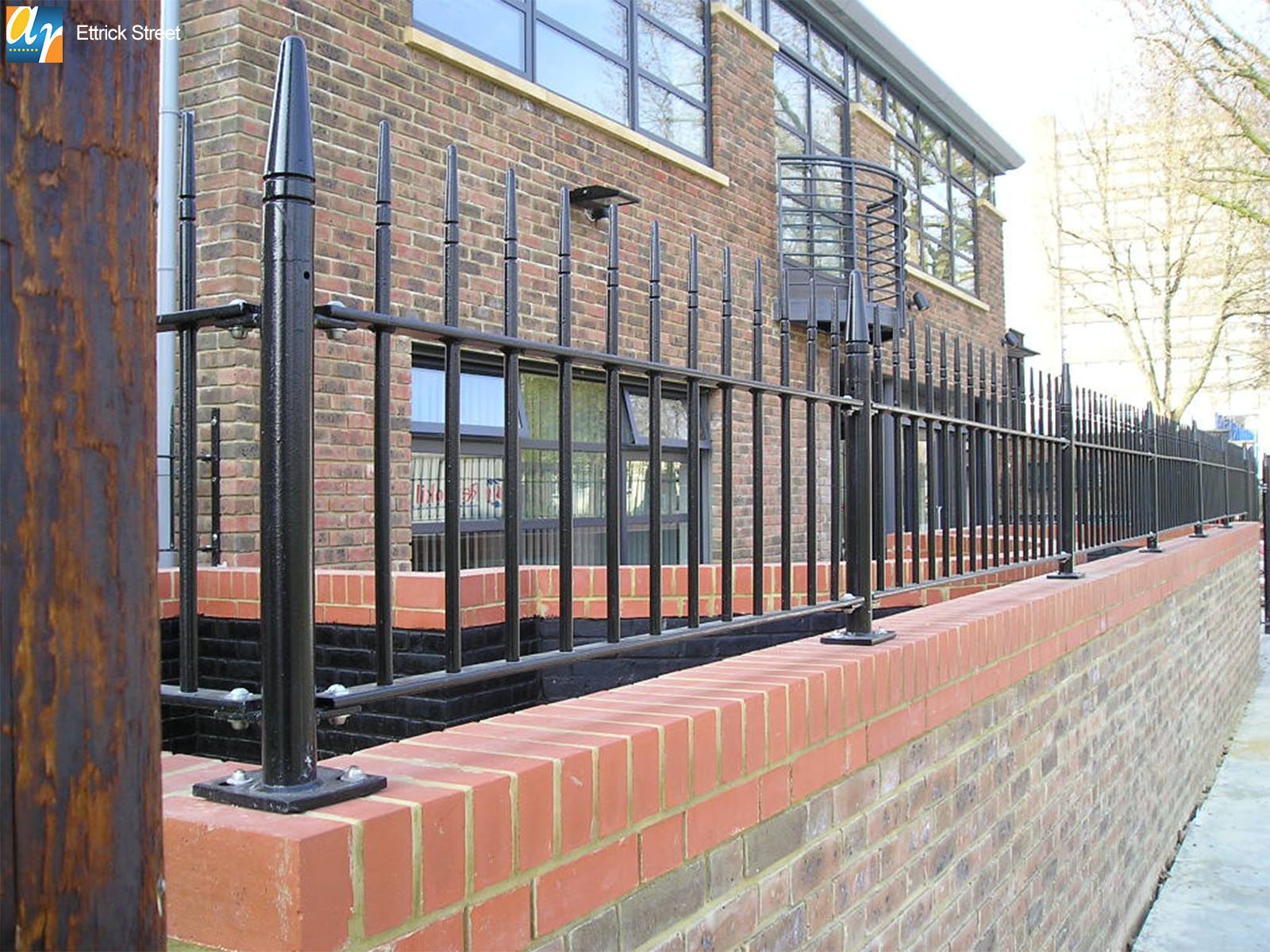Ettrick street albany vertical bar railings