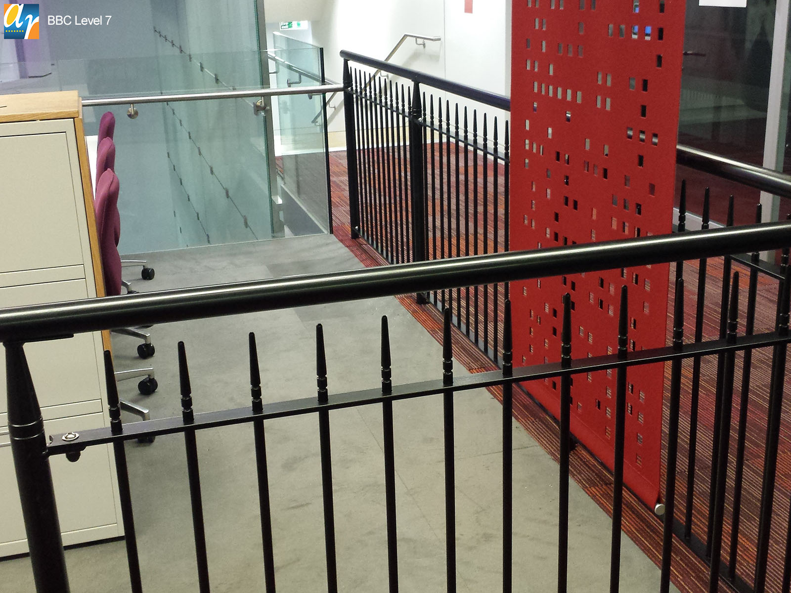 BBC albany vertical bar railings