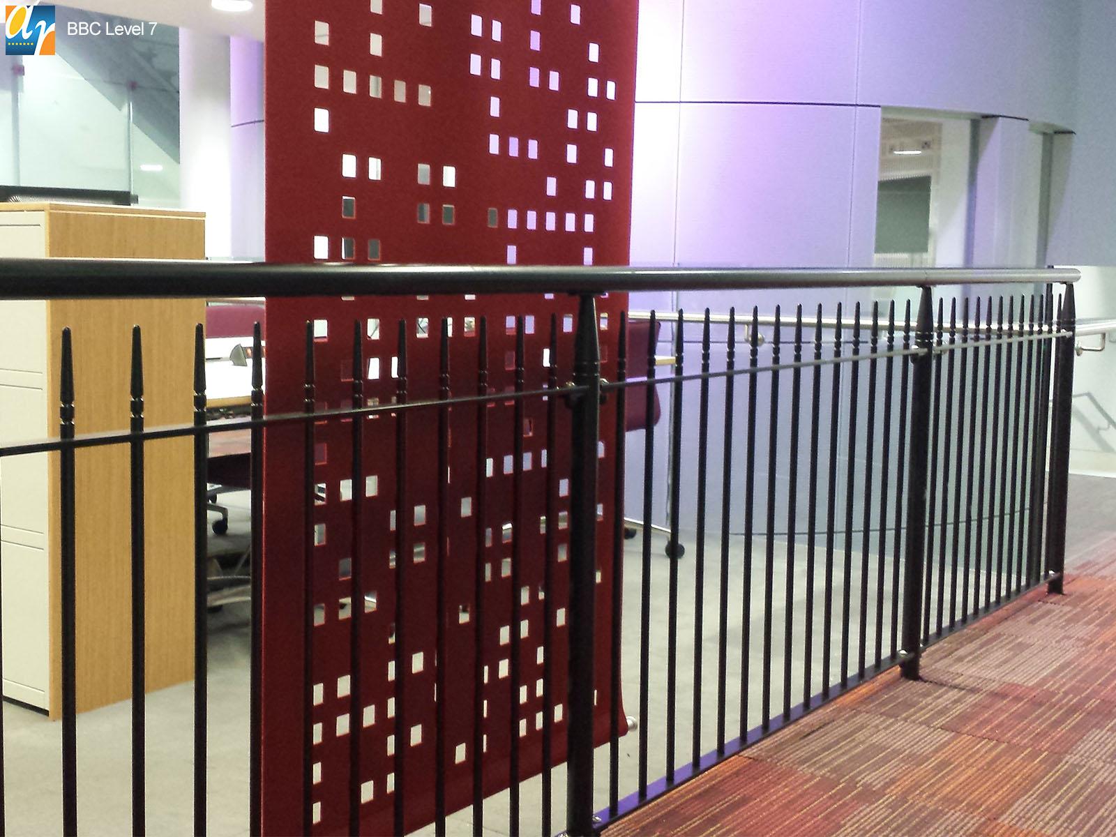BBC albany vertical bar railings