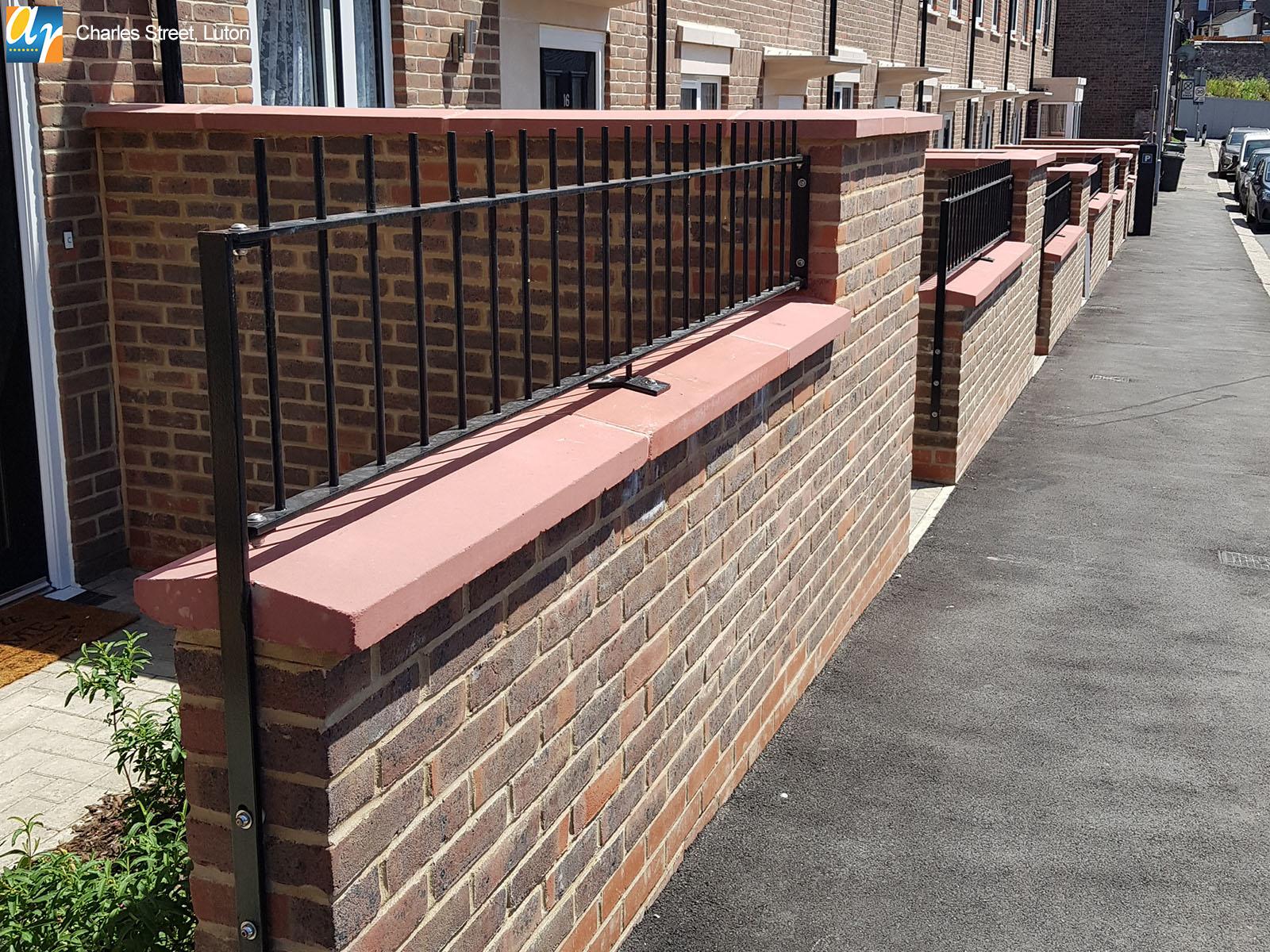 Charles Street Luton Metal Railings
