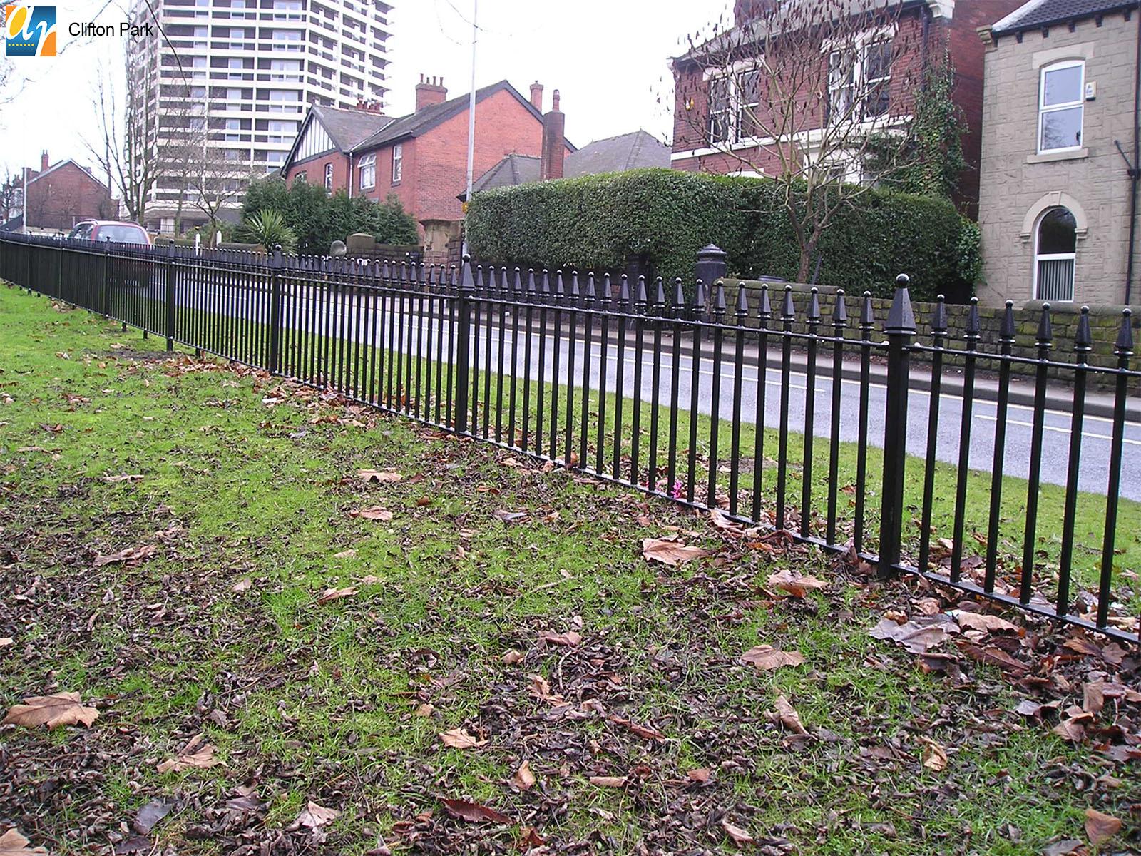Clifton Park churchill vertical bar railings