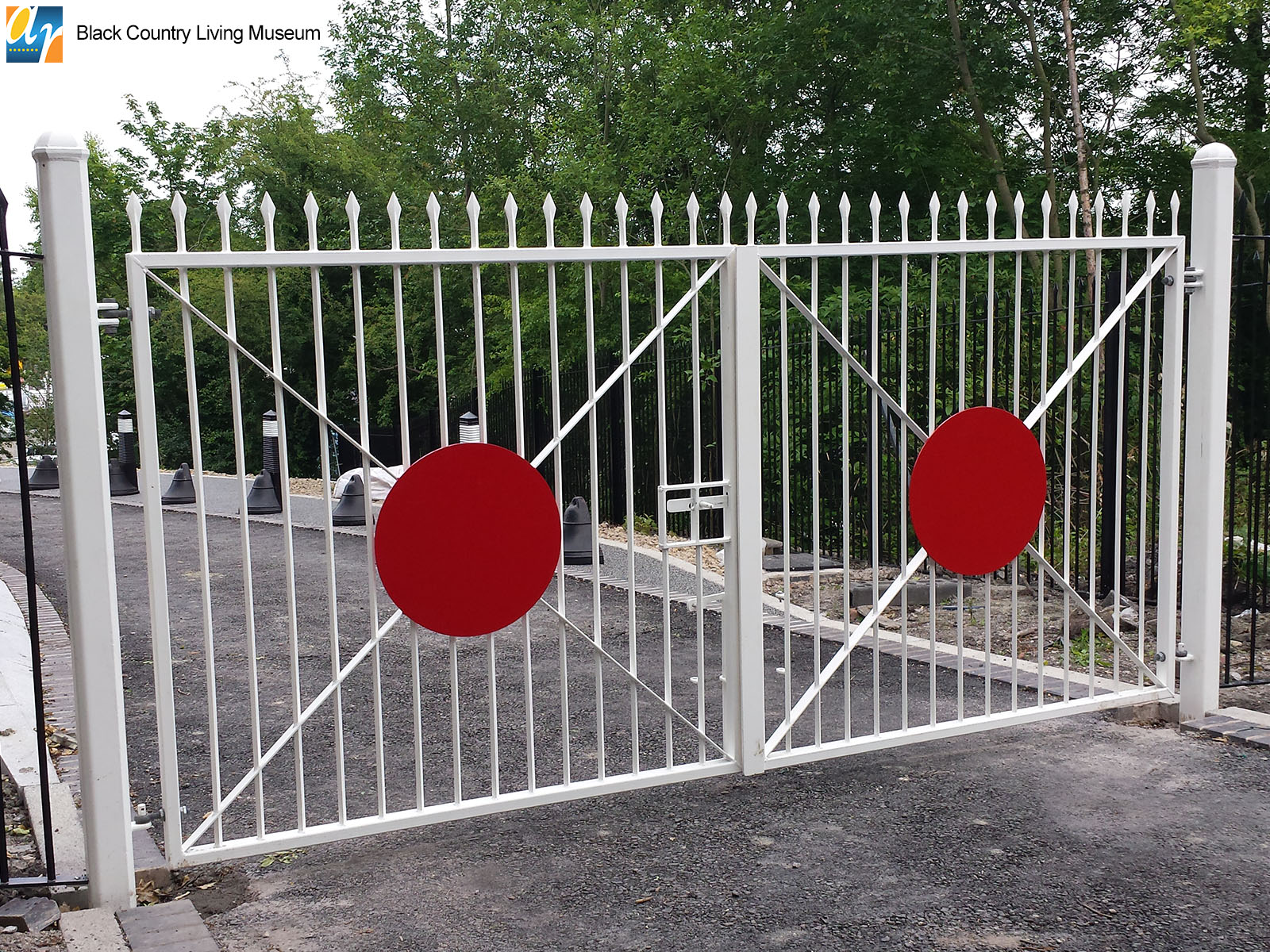 Black Country Living Museum metal gate