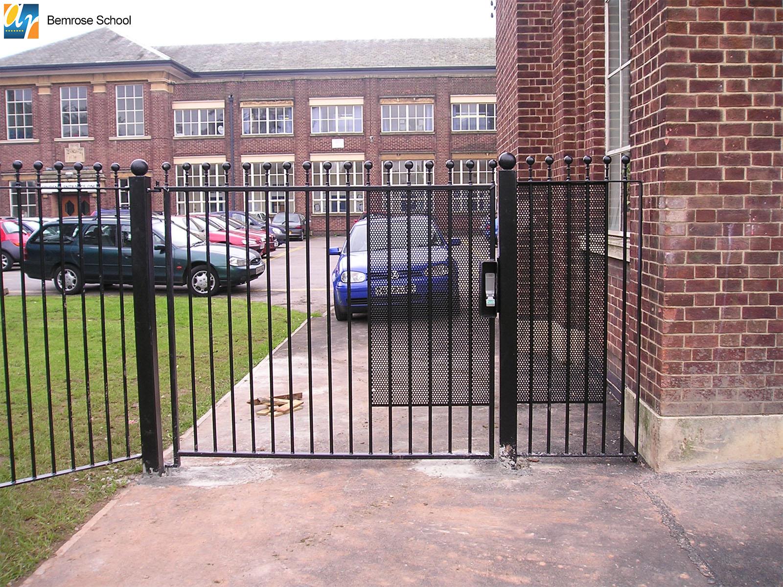 Bemrose School metal railings