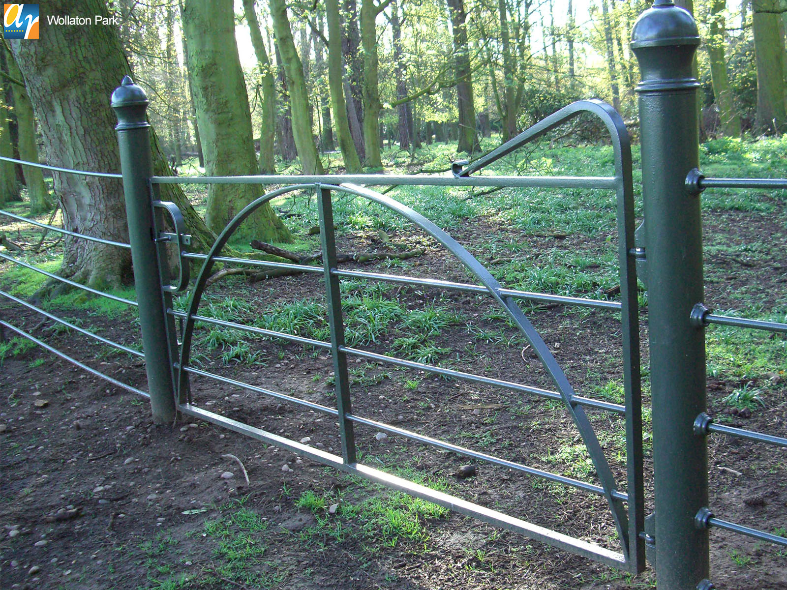 Wollaton Park metal railings and gates