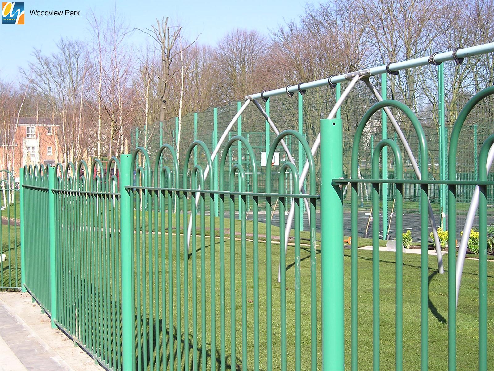Woodview Park Holinwell metal railings