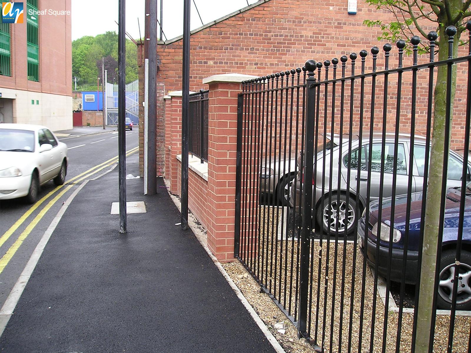 Sheaf Square humber vertical bar railings