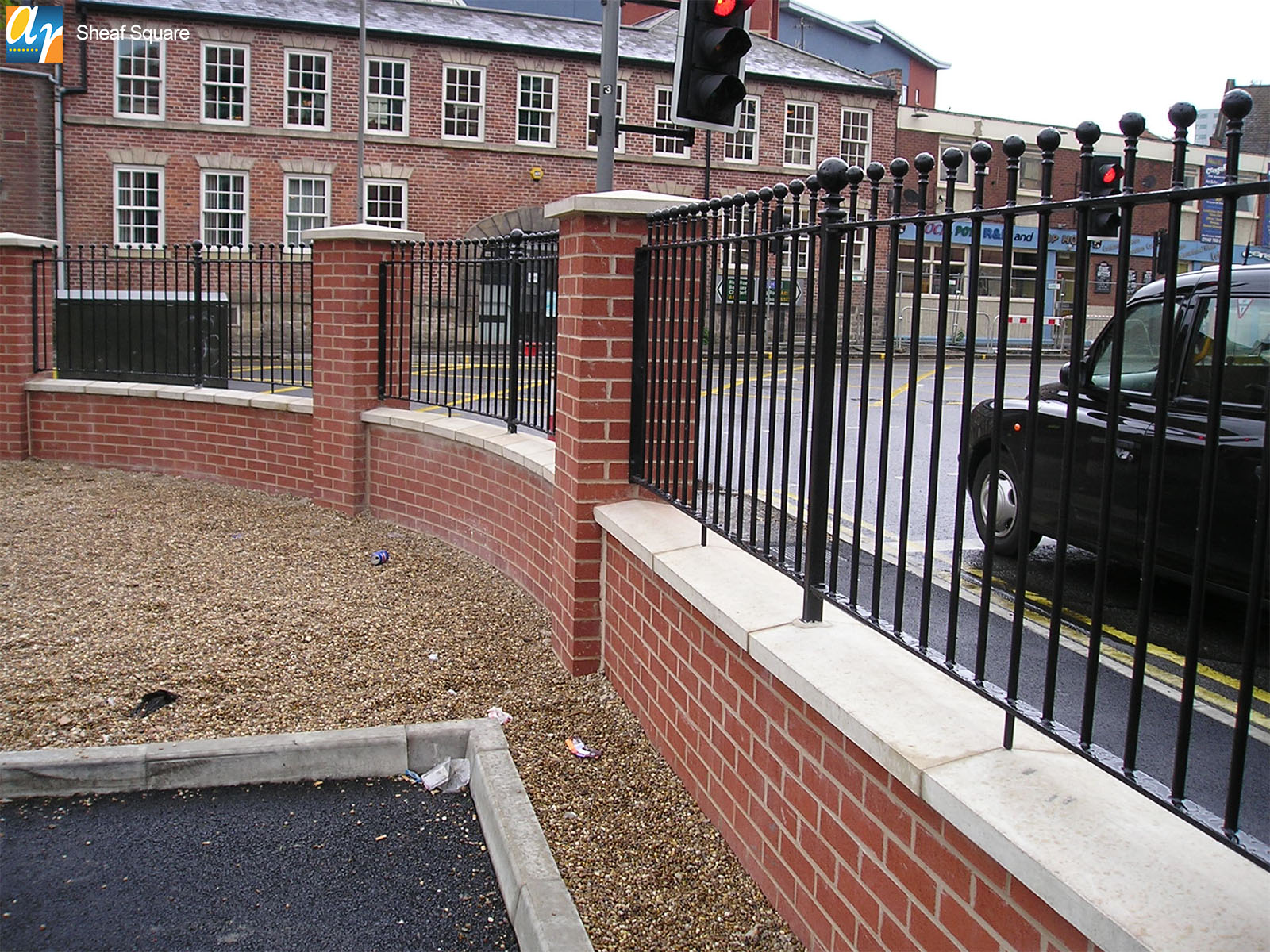 Sheaf Square humber vertical bar railings