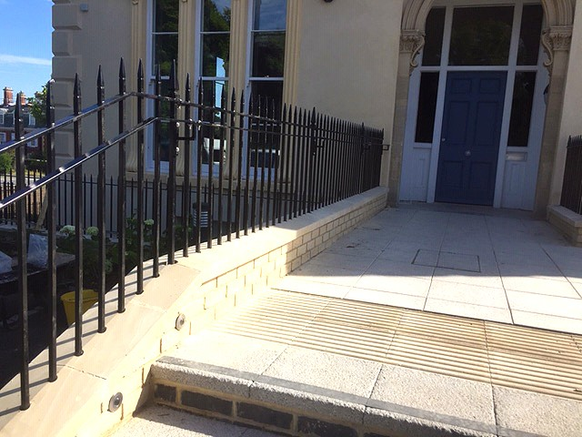 Overton House bespoke metal railings