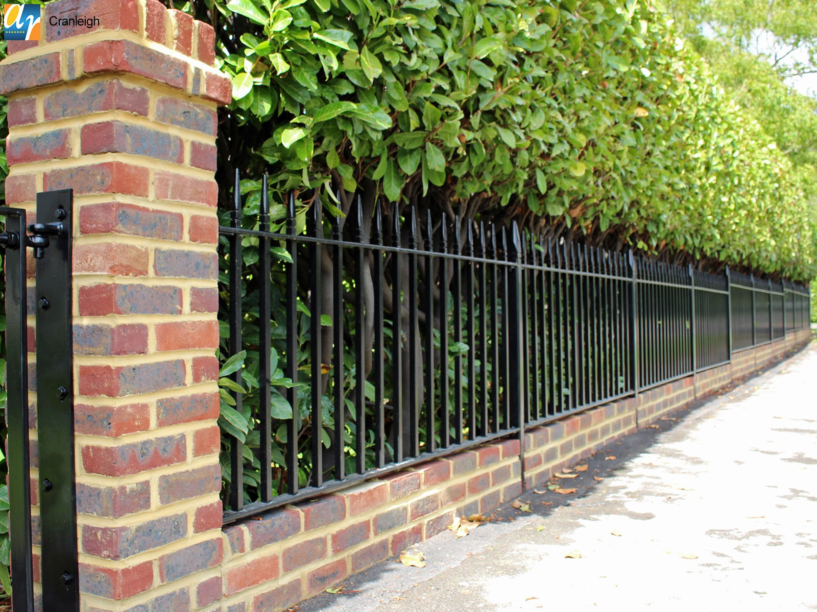 Cranleigh Westminster vertical bar railings