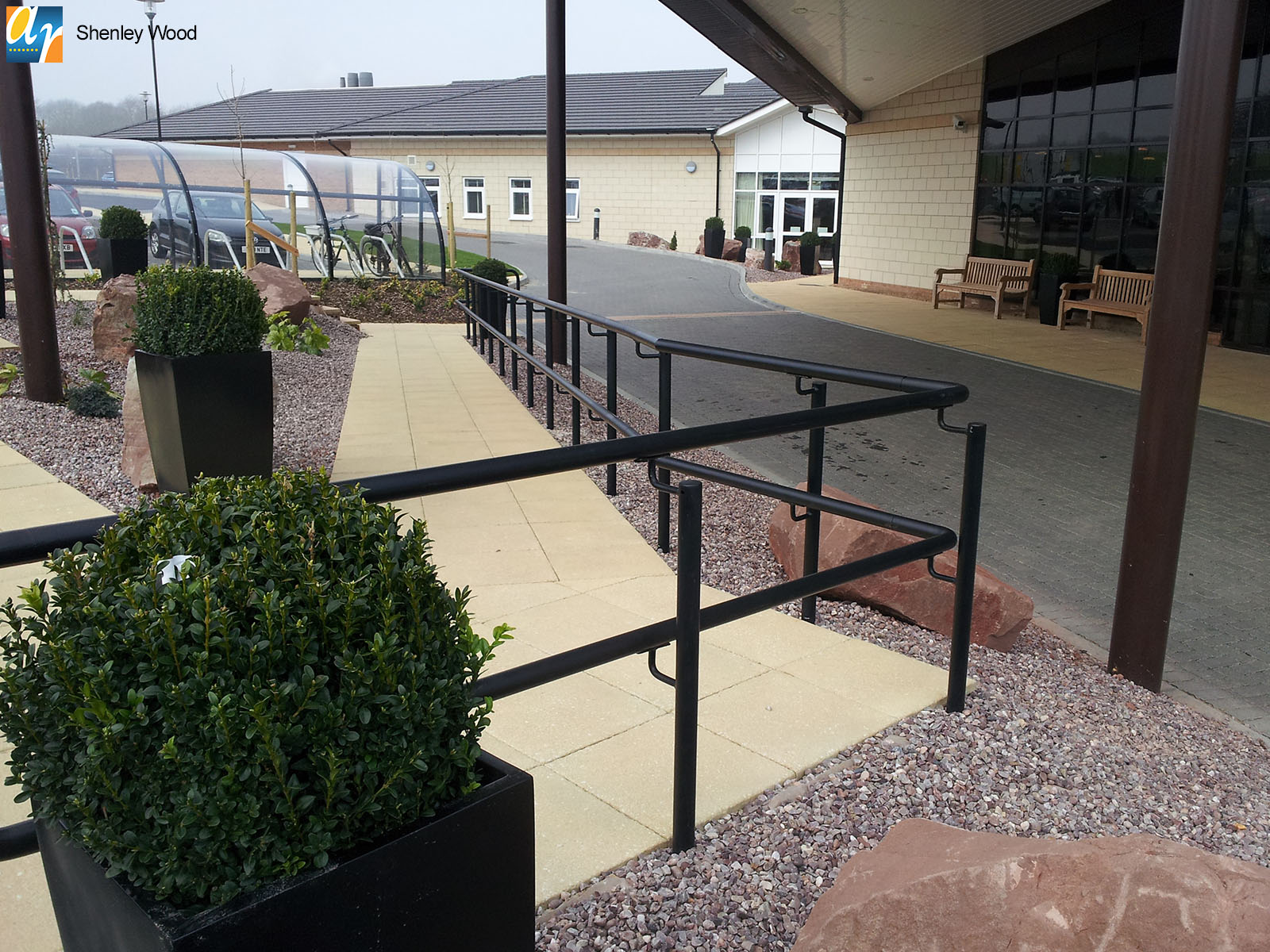 Shenley Wood DDA compliant handrail