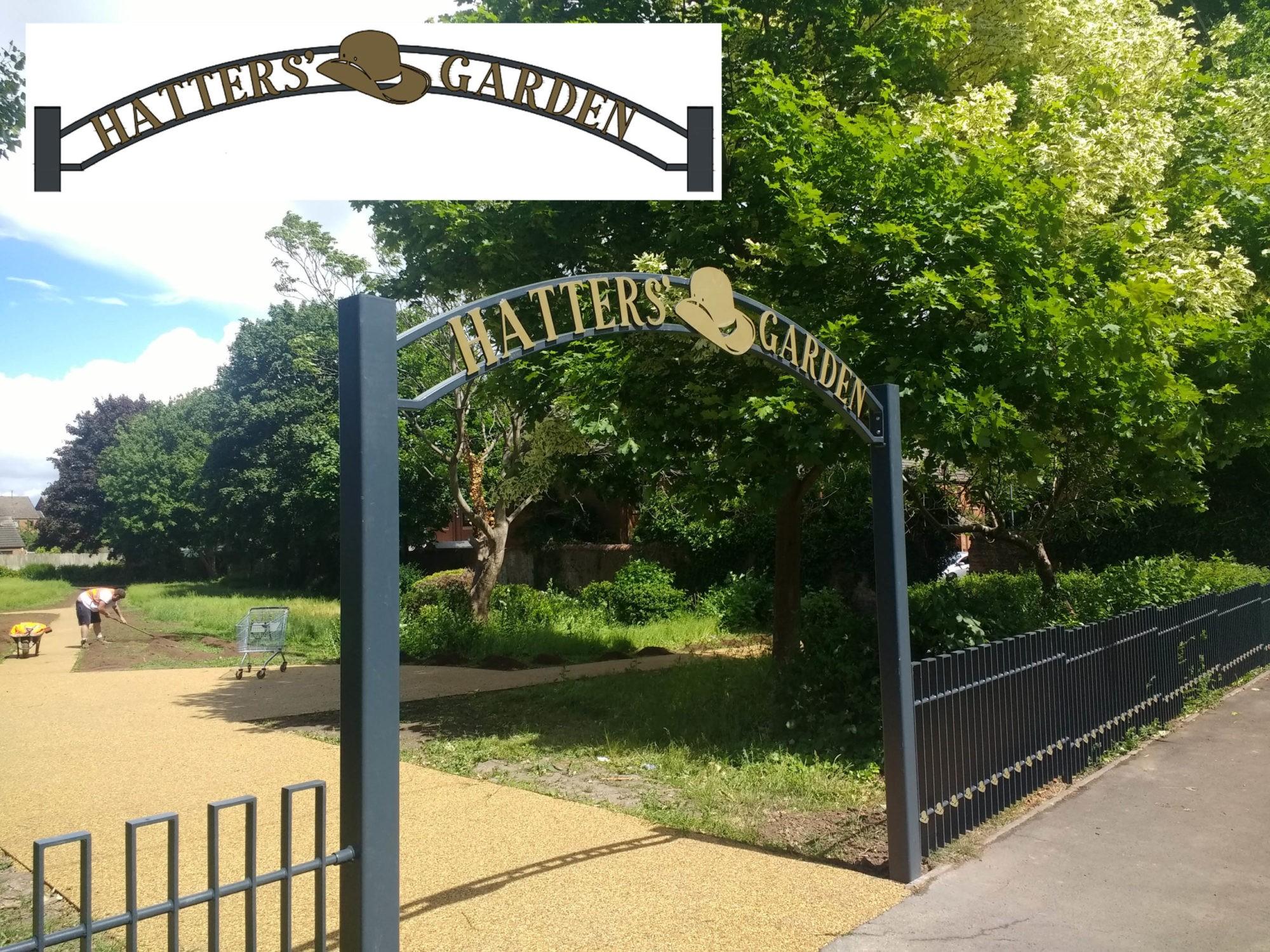 Hatters' Garden Decorative Archway