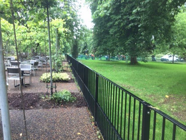 Kew Gardens metal railings